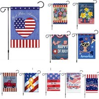 New Trump Garden Flag For President Fai di nuovo l'America USA Garden Party Compleanno Decorazione Banner Bandiere DHL SHip HH9-2222