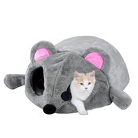 Mouse modeling pet cat nest Bed For Small Cats Dogs Cave Bed...