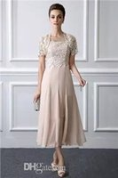 2019 Fashion Spaghetti Mother Of The Bride Dress With Lace J...