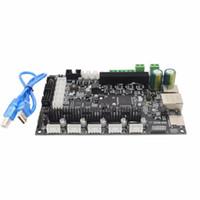 Freeshipping CERoHS 32bit Braccio piattaforma scheda di controllo Smooth MKS SBASE V1.3 source supporto MCU-LPC1768 Ethernet preinstallato dissipatore
