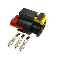 3 PIN TE / TYCO 284425-1 Connettore ad alta tensione Auto Tyco 284425-1 a 3 pin Connettore a spina per Aval H6, Tengyi V80 / C5