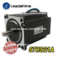 ORIGINAL Leadshine NEMA23 Stepper Motor 57HS21A 8mm Welle 5a 2.1 N.M Torque 76mm Länge 4 Wires Anpassung mit Schrittantrieb DM542