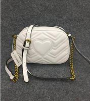 5 couleurs gros nouveau sac de téléphone sac messager dame en cuir véritable chaîne mode sac sac à bandoulière nano sac à main oreiller 1733