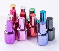 8ml miroir vernis vernis placant argent pâte métal couleur en acier inoxydable miroir vernis à ongles pour nage art beauté