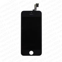 아이폰 5 5S 5C SE 6 무료 DHL을위한 LCD 디스플레이 터치 스크린 디지타이저 어셈블리 교체 부품 (100 % 테스트)