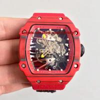 4 stil beste qualität kV version 39.7mm x 47,7 mm RM27-02 RM 27-02 Kohlefaser ETA 2836 Bewegung Mechanische Handwicklung Herrenuhr Uhren
