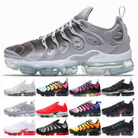 New Color Plus Wolf Grey Running Shoes Mens Women Black whit...