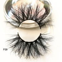 Length 25mm mink lashes extra Long 3D mink eyelashes Big dra...