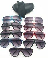 جديد 138 الطيار النظارات الشمسية سيارة التعبئة والتغليف الكامل نظارات القماش 9 ملون نظارات ماركة uv400 مصمم النظارات