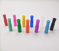 11 Colors Silicone Tips For Stainless Steel Straws Tooth Col...