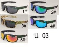1 set hombres de verano polarizados debajo de las gafas de sol deportivas A ciclismo Gafas de sol + caja de caja Deportes al aire libre CONDUCCIÓN Gafas Gafas envío gratis