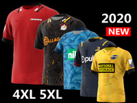 2020 Nouvelle-Zélande Super Rugby Jersey c hiefs Highlanders Crusaders maison blues Jersey Hurricanes Rugby Jersey chemise grande taille s-5XL