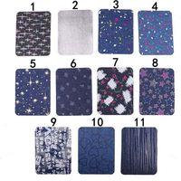 20p-8 in magazzino Denim Ginocchio Gomito Gualt PATCH Iron on Patch Star ricamato cucire su patch per bambini e abbigliamento per adulti