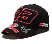 Nouvelle arrivée broderie Ant 93 chapeau casquette de baseball casquette de course F1 moto sports de plein air Hat