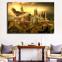 Harry Potter Hogwarts HD Wall Art Canvas Poster And Print Ca...