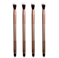Ресницы кисти элегантный отбеленные умственные тени для век кисти профессиональные инструменты для укладки двойная головка макияж кисти
