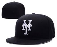 Moda-Nueva Moda Letras N Y los hombres del casquillo plano de los sombreros de ala Armarios Embroiered marca de diseño s equipo de fans Caps Chapéu completo cerrado de béisbol