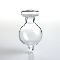Nueva 30mm de cristal Cap Carb bola con bola de la burbuja E-cigarrillo cristal Carb Caps Caps Dabber universales para XL XXL cuarzo fumadores Pipas de agua
