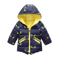 good quality boys winter coats children boys cartoon warm ho...