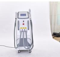 360 إزالة الشعر المغناطيسية عالية الجودة المهنية لإزالة الشعر IPL SHR آلة / IPL SHR الأراضي الفلسطينية المحتلة آلة / ليزر إزالة الوشم + RF + بيكو الشعر