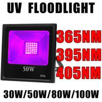 365nm SMD UV Blacklight della luce di inondazione UV luce ultravioletta Nero Led, Outdoor IP66 impermeabile Luce di scena