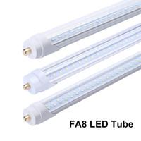8 피트 V 모양의 FA8 LED 튜브 T8 전구는 8 피트 튜브 45W 슈퍼 밝은 LED 튜브 라이트 8 피트 단일 핀 쿨러 튜브를 점등