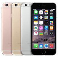 الأصلي تجديد ابل اي فون 6S 4.7 بوصة مع بصمات الأصابع IOS A9 2GB RAM 16/32 / 64 / 128GB ROM 12MP مفتوح 4G LTE الهاتف DHL محفظة 5pcs