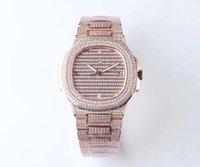 TW Super Diamond versione platinum 5719 / 1G montre de luxe movimento 324c orologi 50m impermeabile diamante spessore 10 millimetri orologio