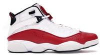 6 6 s altı yüzük basketbol eğitmenleri ayakkabı sneakers atlama concord beyaz üniversite kırmızı yetiştirilmiş siyah beyaz spor salonu kırmızı uzay mat gümüş 2019 ayakkabı