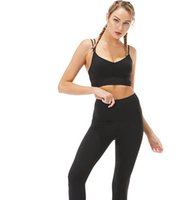 New Women Sweat Suit Pure Color High Resilience Slim Fit Yogo Clothes Two-Piece Dress Exercise And Fitness