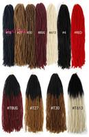 험 DIY 마이크로 LOCS 자매 LOCS 크로 셰 뜨개질 헤어 확장 합성 머리 여성 검은 말리을 위해 18 인치 땋는 머리 직선 직조