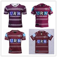 2019 Manly Sea Eagles rugby Jersey qualità thailandese National Rugby League MANLY SEA EAGLES maglia rugby Maglie maglia Jersey