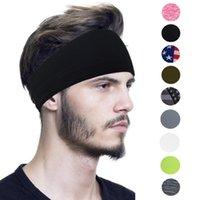USA Stampa magica del turbante fascia bandiera a strisce stelle Headwear velo sportiva Capelli Bandane ginnastica di yoga Parasudore LJJA4014