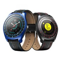 V10 Smart Watch Men with Camera Bluetooth Smartwatch Pedomet...