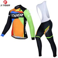 X- Tiger 2020 Winter Fleece Pro Cycling Jersey Set Breathable...