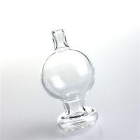 30mm xxl vetro tappo di carboidrato daBer con narghilè bolla palla spessa trasparente taglio picco inserto universali per il quarzo banger unghie