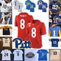 Pittsburgh Panthers Football Jersey NCAA College Patrick Jones II Campbell III Olison Darrin Hall Weaver Hendrix Ditka McCoy Fitzgerald