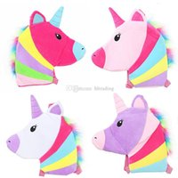 Baby rainbow Unicorn Backpacks children Girls Boys Messenger...