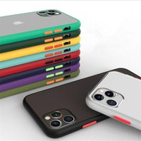 ТПУ ПК прозрачный телефон чехол для iPhone 11 Про Макса Samsung А41 A70E М11 Примечание 10 Про С20 С20 ультра уютный прозрачный чехол