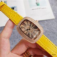 Лучшие марки роскошных женщин часы Galet замороженный из случайных часы кварцевые движение Кожаный ремешок полный алмазов высокого качества моды платье часы