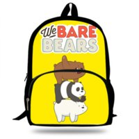 2019 New Hot Anime We Bare Beares School Bags Girls School B...