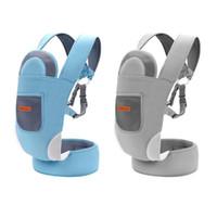 Lab bébé ergonomique Porte-bébé Wraps kangourous Respirant Sacs à dos Sling