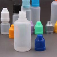 베스트셀러 PE 빈 스포이드 병 childproof 캡 플라스틱 병을 판매 가늘고 긴 스포이드 팁 30 ml에 30ML