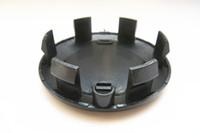 200 teile / los 57mm silber schwarzes ABS Rad Center Hub Caps Auto Felgen Abdeckung Emblem Abzeichen Fit für Renault Clio Megane Szenische Laguna Twingo