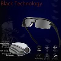 Occhiali da sole sportivi Occhiali da sole polarizzati intelligenti 0,1 secondi Cambio colore intelligente Protezione UV al 100% per uomo Donna Pesca all'aperto Guida