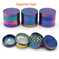 Rainbow Grinders Ice Grinder Zinc Alloy Metal Grinders 40mm ...