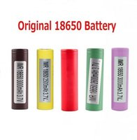 Neue original 18650 batterie lg hg2 samsung INR18650 30Q 3000 MAH HE2 HE4 INR 25R 2500mAh Akkus