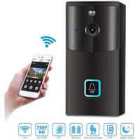 Камера 720P WIFi Белл Домофон Lite OS смарт видео Дверной камеры беспроводной домашней безопасности с App дистанционного управления, 2-Way Audio VB01