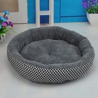 1 Pz 34 * 10 cm Super Cute Soft Cat Bed Winter House per Gatto Caldo Cotone Cane Prodotti per Animali Mini Puppy Pet Dog Bed Morbido Confortevole