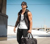 By DHL 10pcs Muscle Fitness Brothers Men' s Hat Sports T...